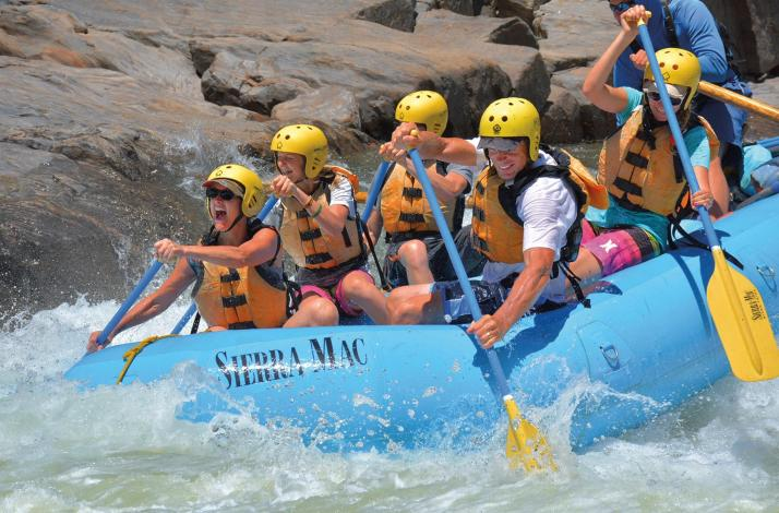 3-Day Multisport Tuolumne Adventure: August 24th: In Groveland, California