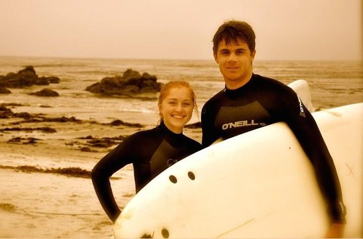 Couples Surf Lesson with Carmel Surf Lessons: In Carmel, California (1)