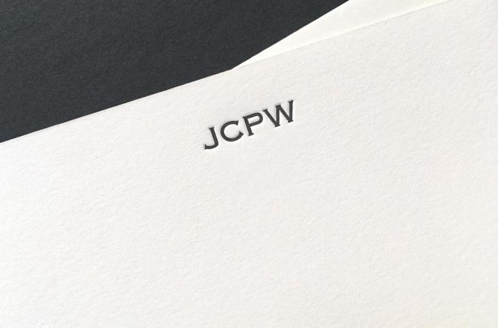 Essential Letterpress Stationery
