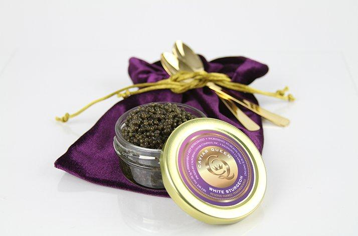 Caviar Makers Reserve  White Sturgeon from the Caviar Queen