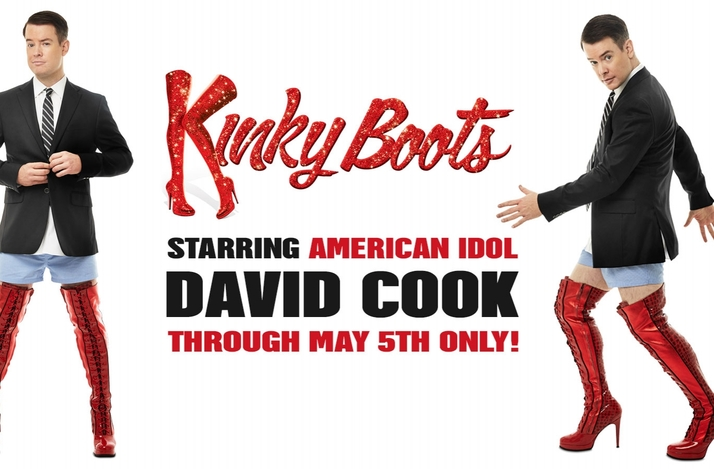 David cook meet and greet with kinky boots vip experience in new david cook meet and greet with kinky boots vip experience in new york new york m4hsunfo