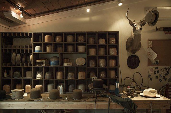 Design Hats with Nick Fouquet at His Venice Atelier and Lunch at Gjelina: In Los Angeles County, California