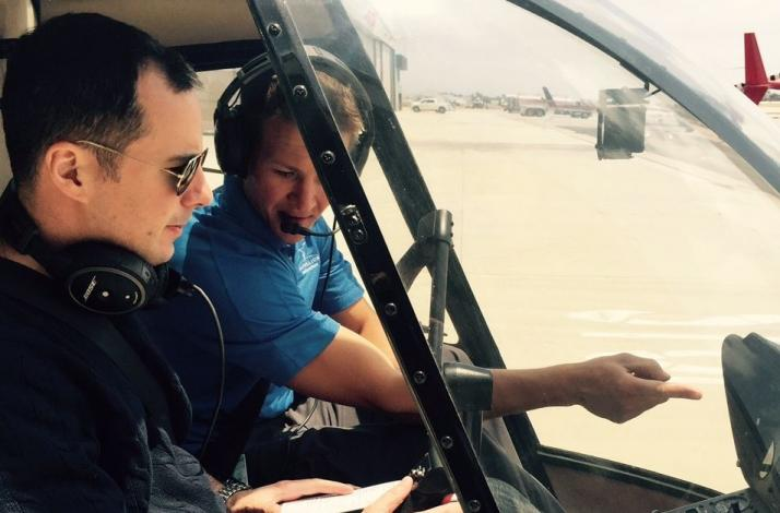 Couples Helicopter Flight Lesson Experience: In Long Beach, California (1)