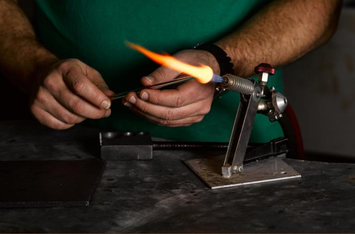 Flame Working Sampler: In Roxbury Crossing, Massachusetts