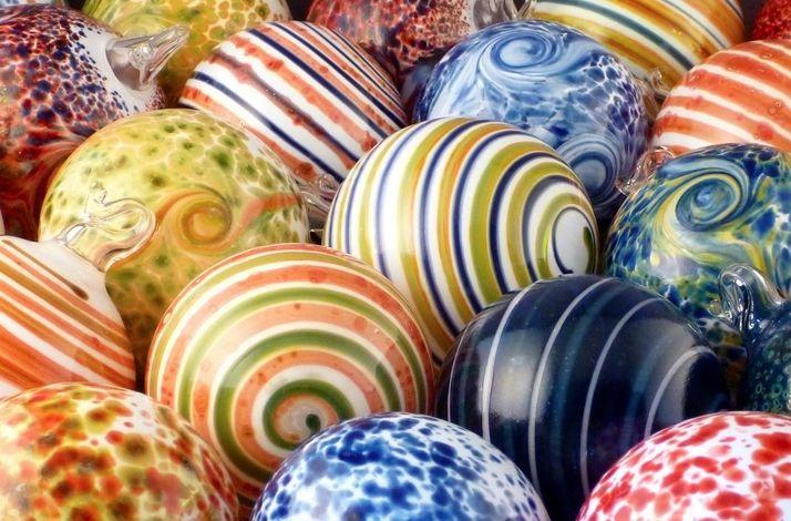 Glassblowing Christmas Ornaments: In Roxbury Crossing, Massachusetts (1)