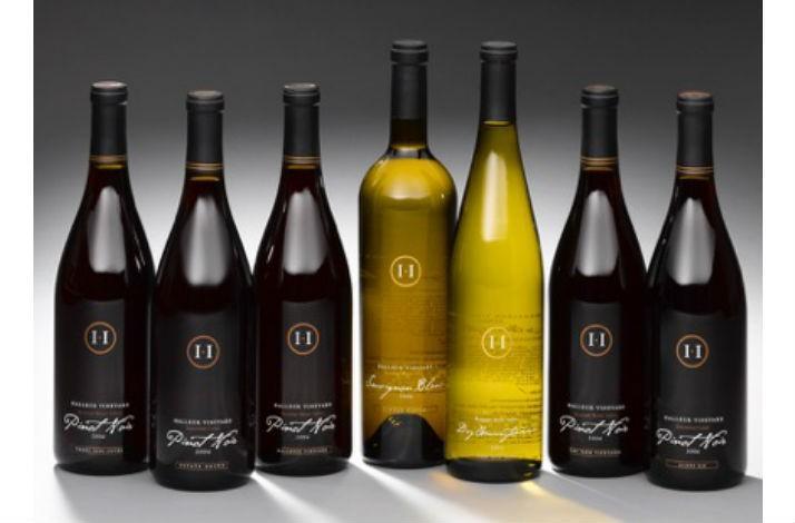 Case of Premium Halleck Vineyard Library Wines (1)