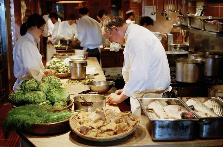 Dine in the Heart of the Chez Panisse Kitchen: A Convivial Supper at an Iconic Restaurant: In Berkeley, California (1)