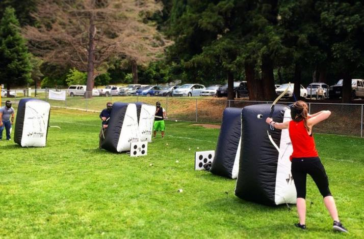 Archery Tag Private Games: In Santa Cruz, California (1)