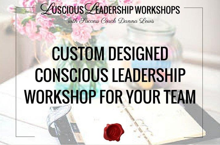 Custom Designed Leadership Workshop for Your Team: In San Francisco, California