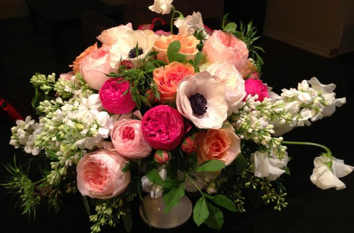 Designing in Compote: a Romance with Flowers  - Floral Design Class at Dragonfly Floral School: In Healdsburg, California