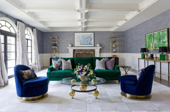Custom Room Design from Jenn Feldman Designs (JFD): In Los Angeles, California