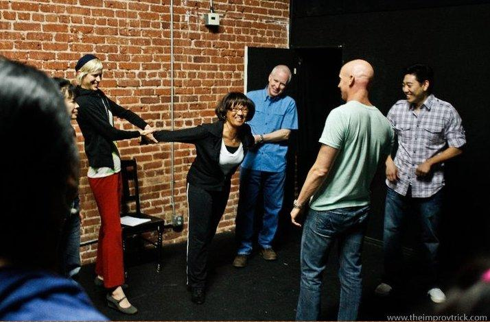 Sample Improv Class in Pasadena: In Pasadena, California (1)