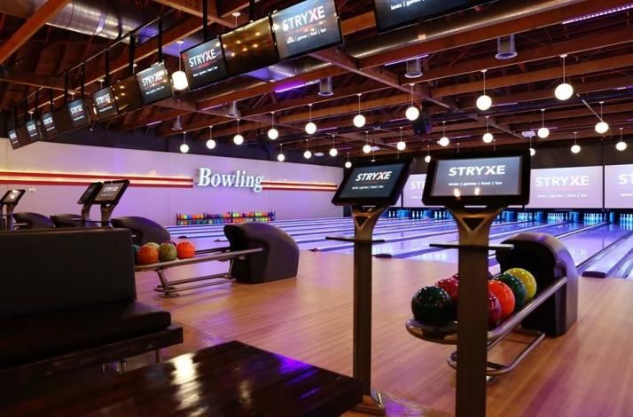 Dine and Play at STRYXE: In Madison, New Jersey