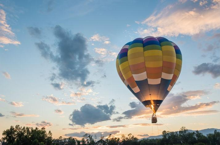 Champagne Toast and Hot-Air Balloon Tour with an Internationally Renowned Winemaker: In Yountville, California