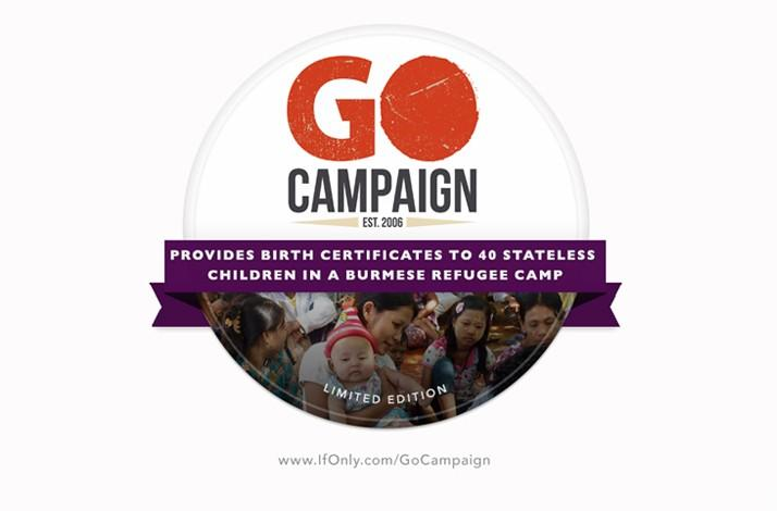Burmese Go Campaign Badge (1)