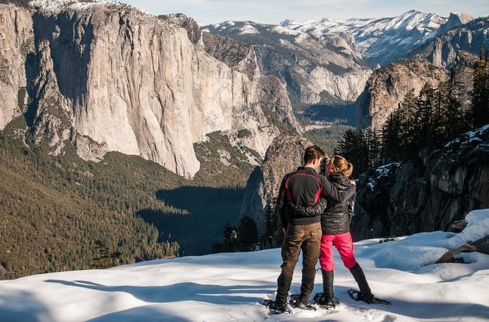 Snowshoe Yosemite's Wonders: In Yosemite National Park, California