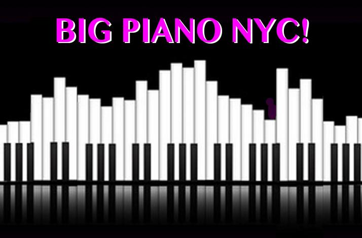 """One Hour Instructor Led Session on the Big Piano - from the Movie """"BIG!"""": In New York, New York (1)"""