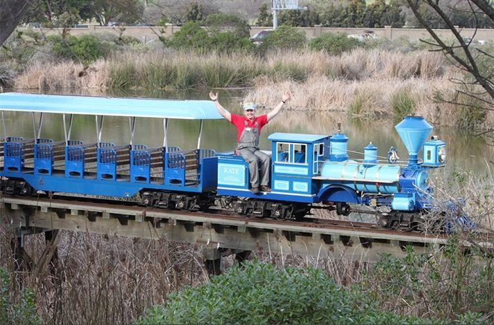 Be an Honorary Train Conductor at the Santa Barbara Zoo: In Santa Barbara, California (1)