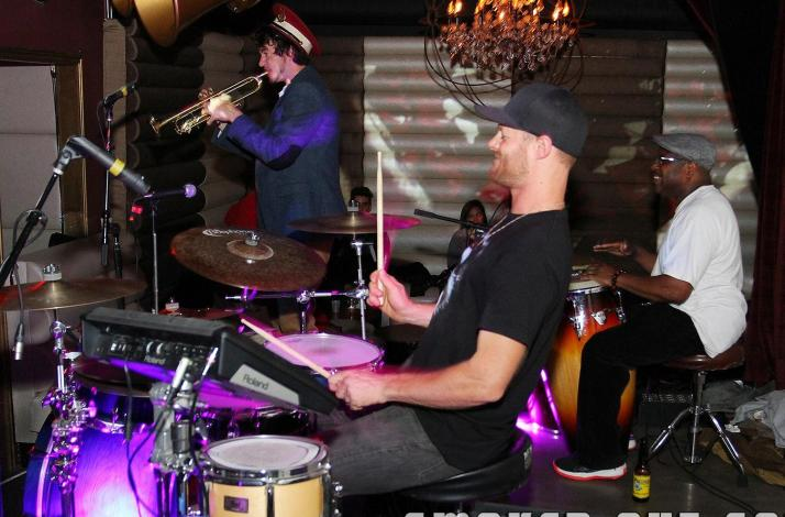 Funk & Soul Party with DJ, Live Drums, Guitar, and Horns: In Berkeley, California
