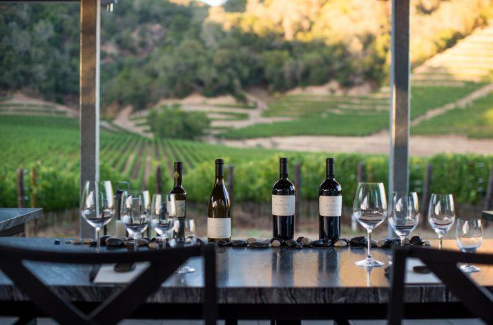 Lunch from the Culinary Gardens: Wood-Fired Pizza and an Estate Wine Pairing: In Geyserville, California (1)