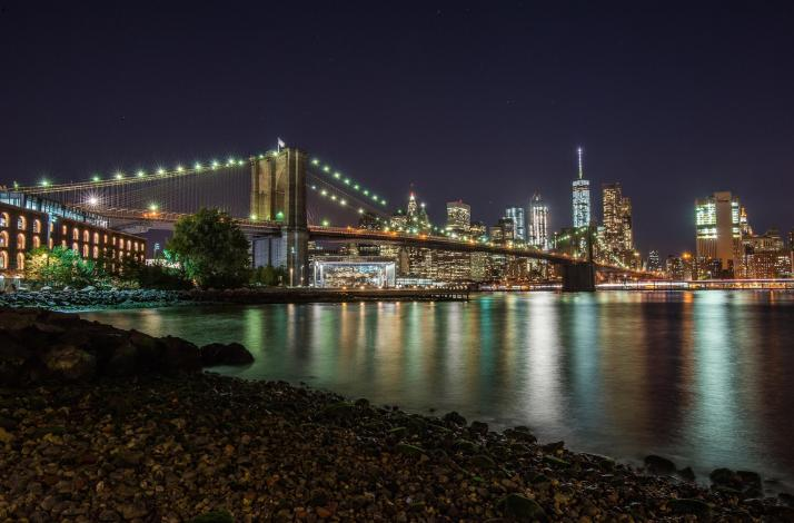 Night Photography Lesson: Brooklyn Bridge and Dumbo: In Brooklyn, New York (1)