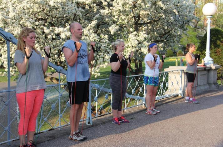 Evolve Bootcamp Outdoor Fitness Program: In Boston, Massachusetts