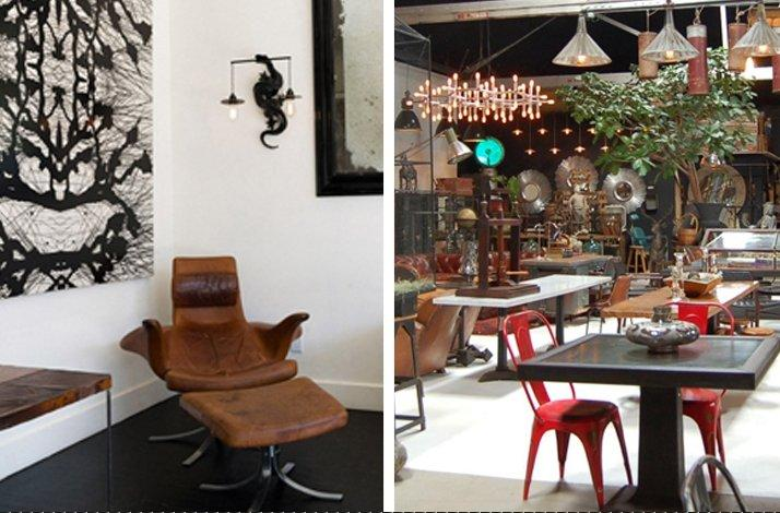 Four-Hour Guided Tour Through Antique and Vintage Interior Decor Shops in Los Angeles: In Los Angeles, California
