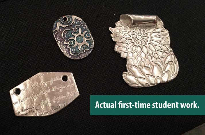 Create Custom Silver Jewelry with Metal Clay: In Santa Ana, California (1)