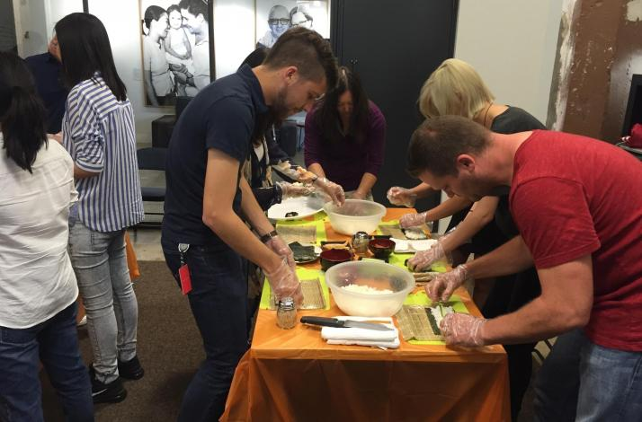 Iron Chef Style Team Building with Sushi: In San Francisco, California (1)