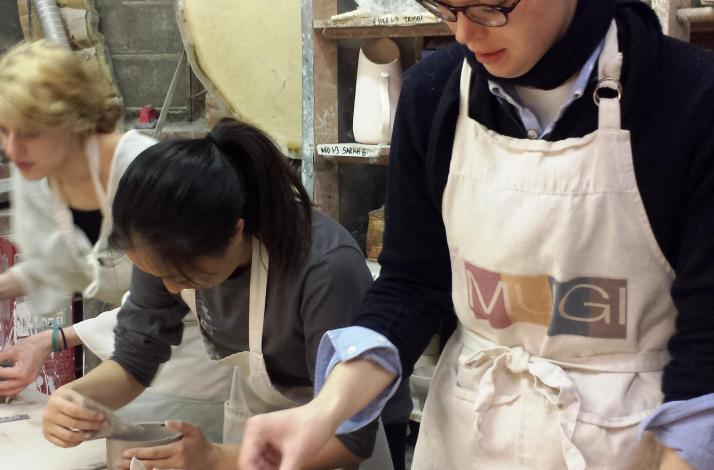 Couples Pottery Class: In New York, New York