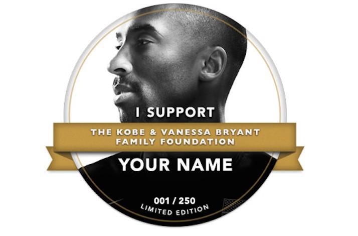 Limited Edition Kobe Donation Badge (1)