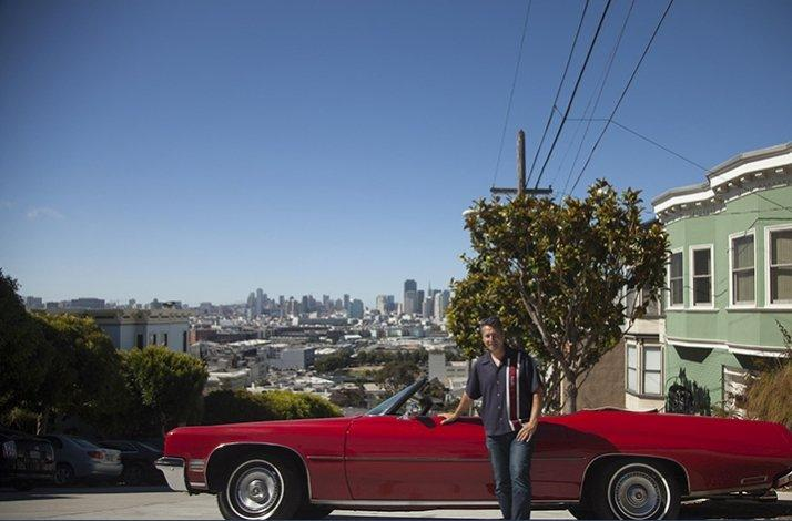 Classic Convertible Tour of San Francisco: In San Francisco, California