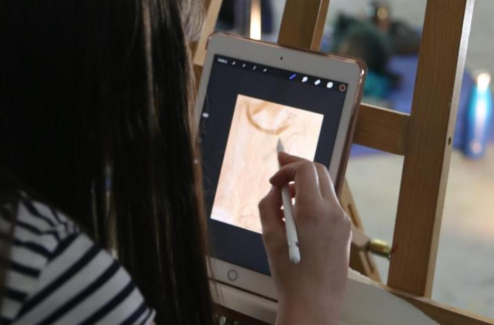 Customized Digital Painting Experience in San Francisco!: In San Francisco, California