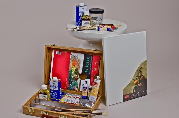 Deluxe Drawing and Painting Kit