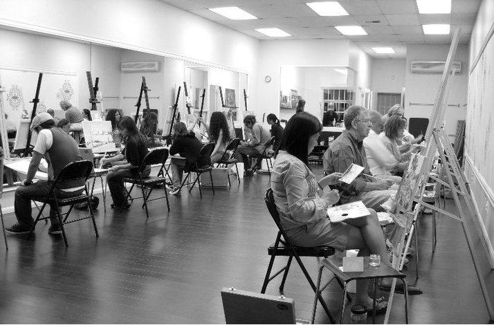 Group Drawing and Painting Event: In Los Angeles, California (1)