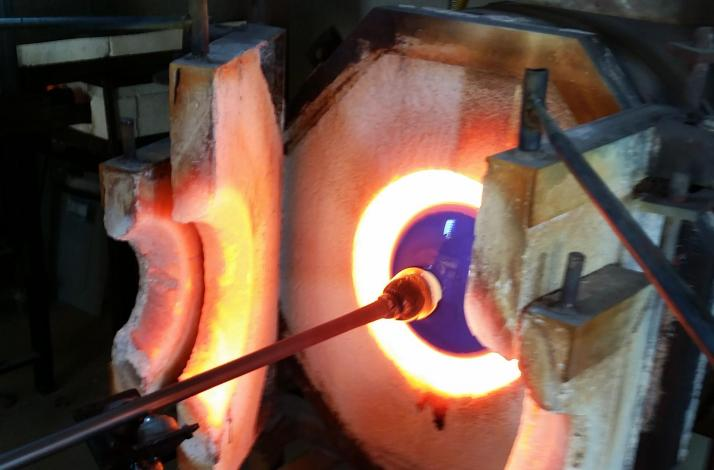 Glass Blowing by the Sea: In Hermosa Beach, California (1)