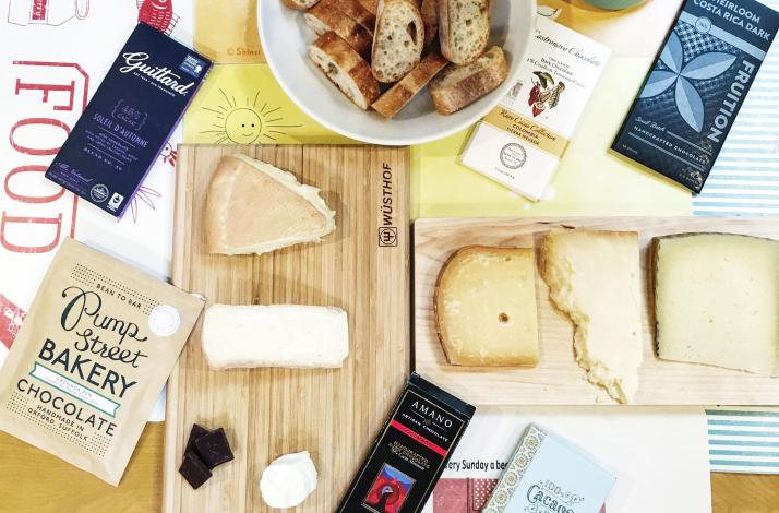 Curated Chocolate and Cheese Tasting: In New York, New York