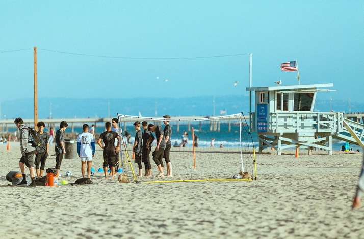 Beach Soccer Game Hosted by VBFC: In Los Angeles, California (1)