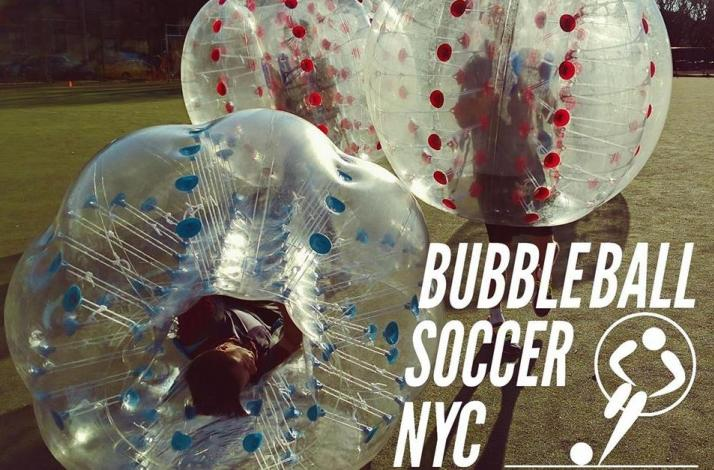 Bubble Ball Soccer NYC Private Game: In New York, New York