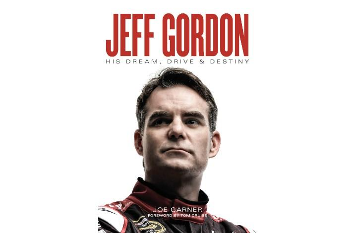 Autographed & Personalized Copy of the NY Times Bestseller 'Jeff Gordon: His Dream, Drive & Destiny' (1)