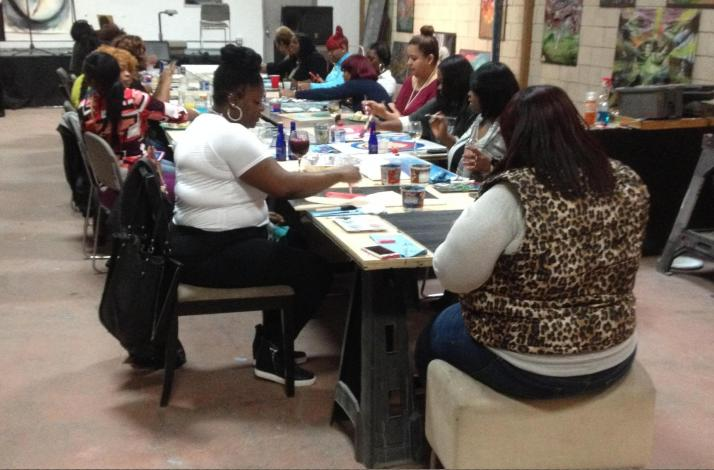 Corporate and Team Building Through Social Painting: In Chicago, Illinois