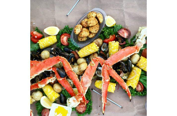 At-Home Chesapeake-Inspired King Crab Boil Prepared by 'Top Chef' Jill Snyder: In Los Angeles, California
