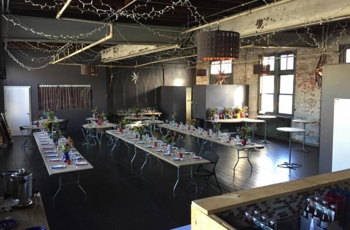 Authentic Brooklyn Loft Reception at Loft172: In Brooklyn, New York