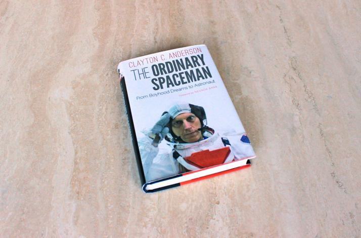 Signed Copy of The Ordinary Spaceman: From Boyhood Dreams to Astronaut (1)