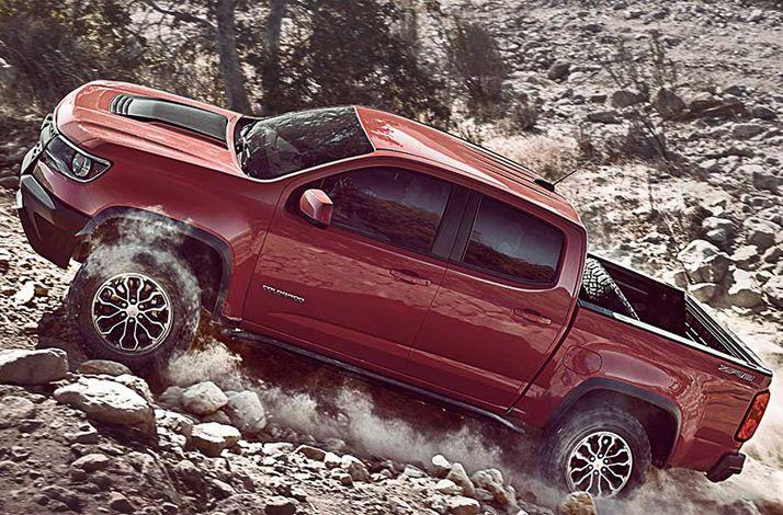 New 2017 Chevrolet Colorado with an Earthquake Survival Package