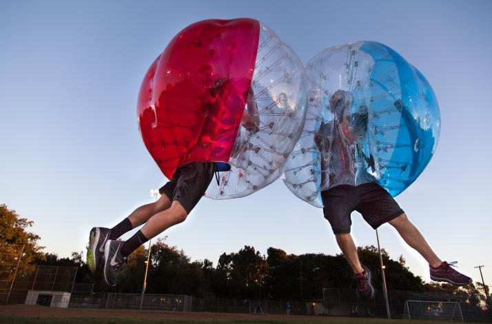 Bubble Soccer with Stratus Bubble Soccer in LA: In Los Angeles, California