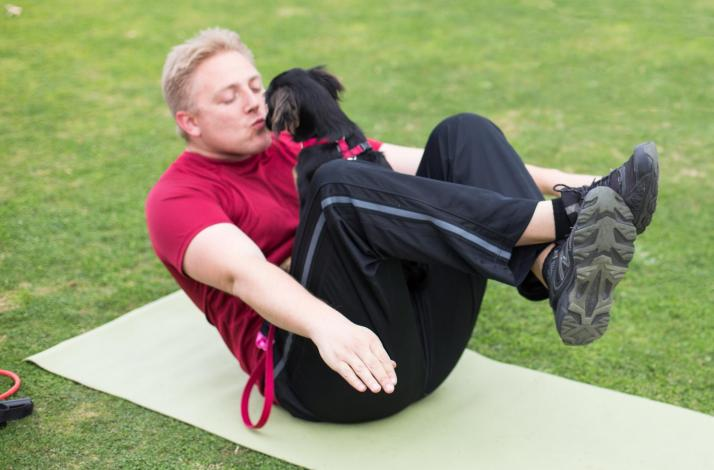 Feet and Paws: Fitness Class with Your Dog : In Santa Monica, California (1)
