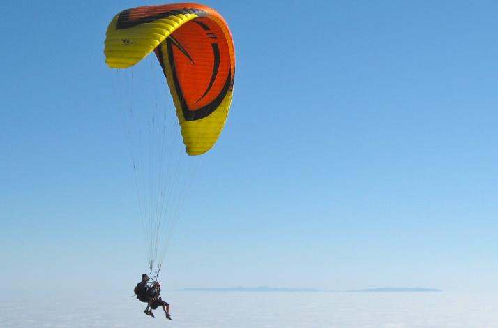 Exclusive Paragliding Tandem Flight Experience : In Malibu, California (1)