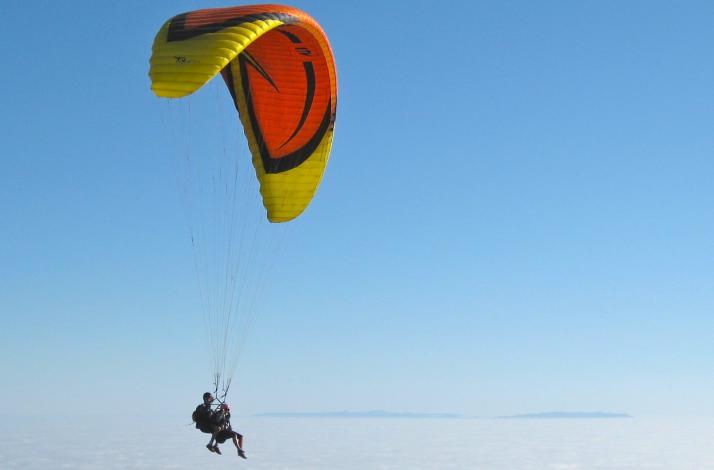 Exclusive Paragliding Tandem Flight Experience : In Malibu, California (1)