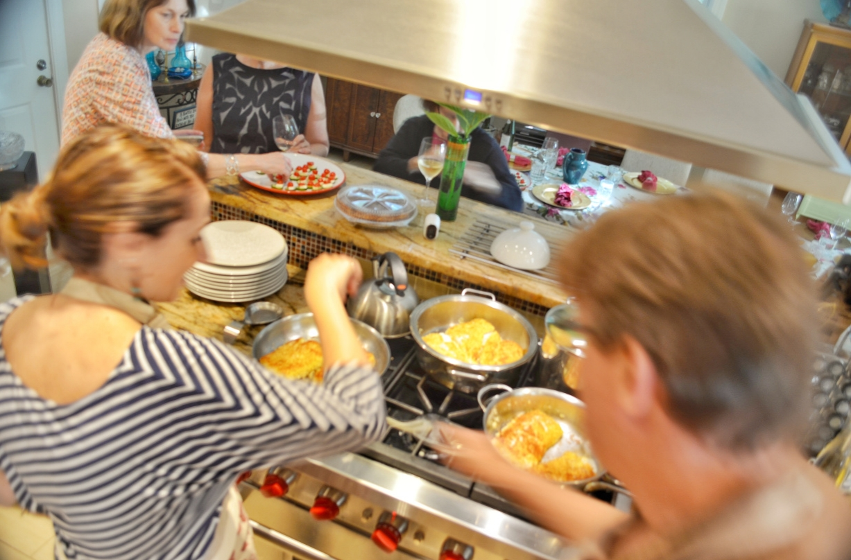 Cooking Class Party: Seafood Delight: In Dedham, Massachusetts